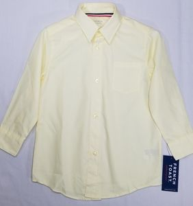 FRENCH TOAST Yellow Boys Shirt